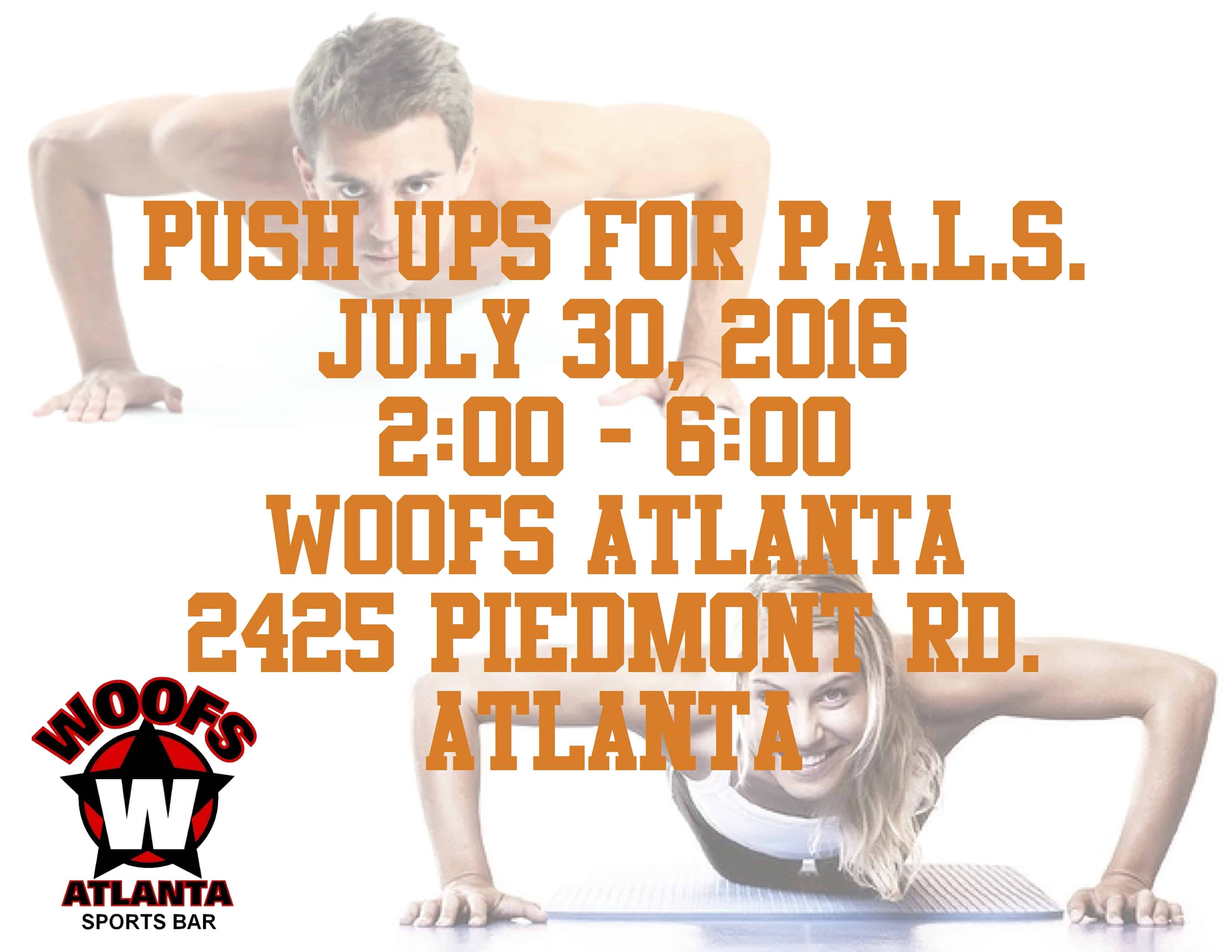 Push Up for P.A.L.S.